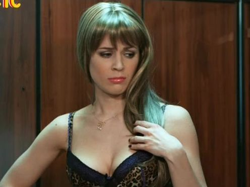 Секретарша в секси наряде