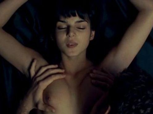 Нежный красивый секс влюбленных